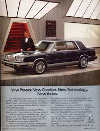1986 chrysler new yorker turbo sedan chrysler 1986 and beyond