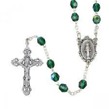 birthstone rosary birthstone rosary leaflet missal