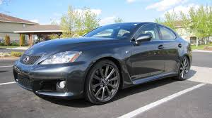 isf lexus blue just like new 1 550 miles on a u002708 lexus is f rare cars for