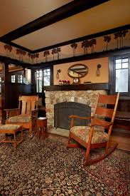 arts and crafts home interiors 10 artistic bungalow living room design at new craftsman style