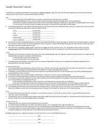 Sample Resume For Financial Analyst Entry Level by 40 Free Roommate Agreement Templates U0026 Forms Word Pdf
