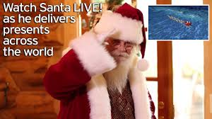 norad santa tracker 2016 live where is father christmas right now