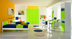 bright paint colors for bedrooms bright orangen accent wall paint