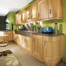 sage green kitchen wall colors with oak cabinets green kitchen