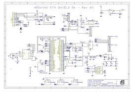 arduino ethernet shield circuit diagram circuit and schematics