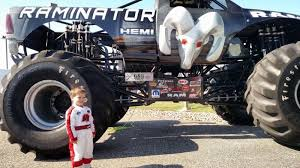 start monster truck driver training young