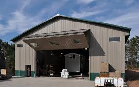 Overhead Shed Doors What Is The Ideal Choice For Your Pole Barn Door