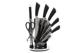 ross henery stainless steel 8 piece kitchen knife set men male man