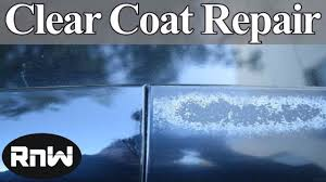 clear l base to fill how to repair damaged clear coat auto body repair hacks revealed