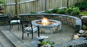 diy outdoor fireplace outdoor patio fire pit designs backyard