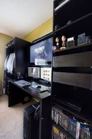 Sick Dorm Room Media Center Setup And Workstation New by Over 60 Workspace U0026 Office Designs For Inspiration Cyberpunk