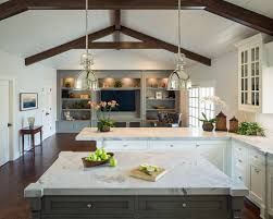 Benjamin Moore Chelsea Gray Kitchen by Customized Ranch Brownhouse Design