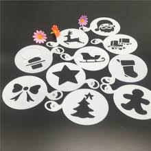Christmas Cake Decorations Templates by Popular Pattern Stencil Spray Cake Decoration Buy Cheap Pattern