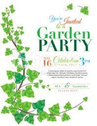 greeting free garden party invitations wild flower design garden
