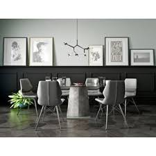 white modern dining table set modern contemporary dining room sets allmodern