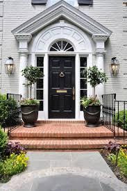 Pvc Exterior Doors White House Black Front Door Best 25 Black Front Doors Ideas On