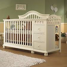 Black Crib With Changing Table Cribs With Changing Tables Attached Experience The Elegance Of