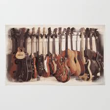 Guitar Rugs Music Rugs Society6