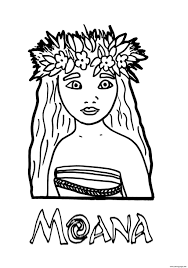 coloring pages moana princess printable coloring pages book