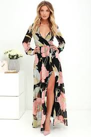 what is a maxi dress lovely black floral print dress maxi dress sleeve dress