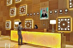 Hotel Reception Desk Reception Desk Picture Of Yyldyz Hotel Ashgabat Tripadvisor