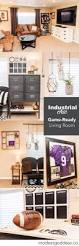 Industrial Chic Home Decor Industrial Chic Game Ready Living Room Modest Goddess