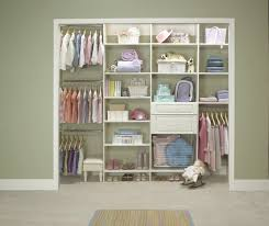 Nursery Organizers Decorating Closetmaid Closet Organizer Lowes Closet Organizers