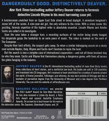 Traumk He The Burial Hour A Lincoln Rhyme Novel Amazon De Jeffery Deaver