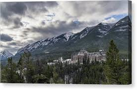 fairmont banff springs hotel canvas prints america