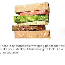 cheeseburger wrapping paper dopl3r memes there is photorealistic wrapping paper that