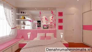 desain kamar tidur anak perempuan minimalis sederhana untuk remaja