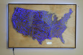 United States Map To Color by Illuminated Waterways Of The United States Map Album On Imgur