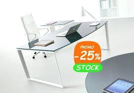 plateau verre trempé bureau bureau en verre bureau direction en en promotion plateau bureau en