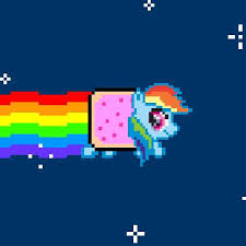 Nyan Cat Know Your Meme - french nyan cat gif find share on giphy rainbow cats gif the word