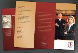 tri fold brochure template for attorney law firm order custom tri