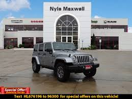 used jeep rubicon for sale new jeep wrangler unlimited austin nyle maxwell chrysler dodge