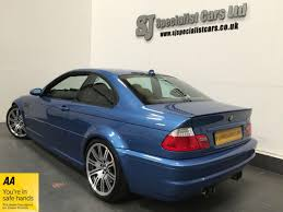Bmw M3 Colour Used 2004 Bmw E46 M3 00 06 M3 Smg For Sale In Wigan Pistonheads