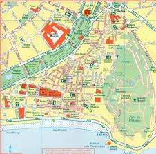 Map Of Lyon France by Nice Old Town Map