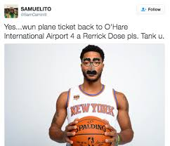 derrick rose went missing before last night s game twitter ran