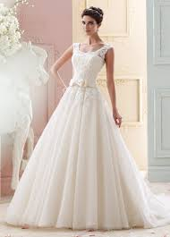 tulle u0026 organza lace ball gown wedding dress 215263 marmee