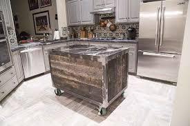 rolling kitchen island speckled black rolling kitchen island porter barn wood
