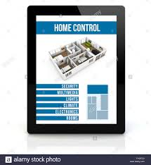 home design app pc smart house concept render of a tablet pc with remote home
