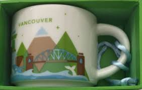 you are here ornament vancouver starbucks mugs