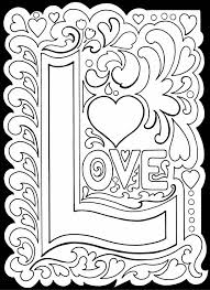 heart coloring pages adults photo gallery love coloring