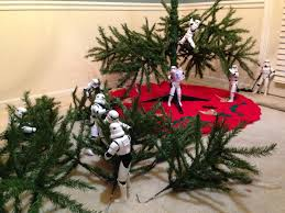 star wars u0027 stormtroopers set up christmas tree business insider