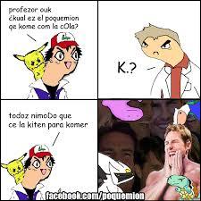 Pokemon Memes En Espa Ol - cuál es el pokemon que come con la cola que jalada