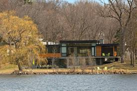 Modern Lake House by Fabulous Modern Lake House In Minnesota Asks 1 8m Curbed