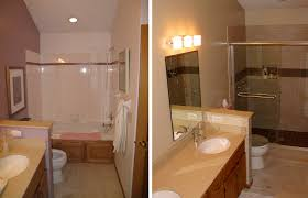 Before And After Home Decor Simple Bathroom Remodel Before And After Home Decor Interior