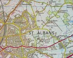 map of st albans domesday reloaded oaklands college st albans