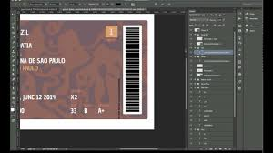 making of goool ticket design photoshop youtube